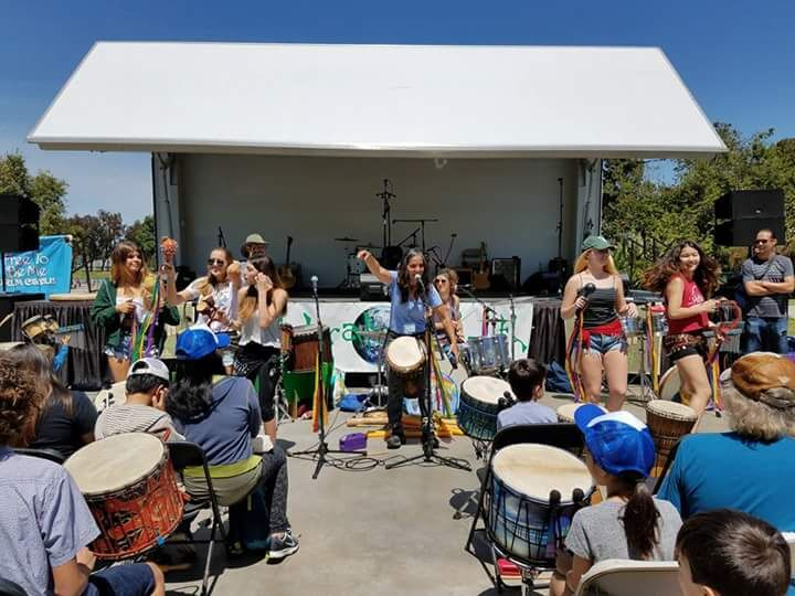 drum circle for families redondo beach